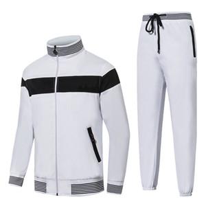 Italia Brand Designer Tracksuits Hombres Trajes de golf Invierno Golf Desgaste Hombres Ropa de golf Hombre Soporte Cuello Cabello Cabina Chaqueta Hombre Chaqueta A prueba de viento Jersey