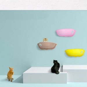 Pet Hammock Cat Basking Window Mounted Seat Home Suction Cup Hanging Bed Mat Lounge Cats Comfortable Cat Pet Bed Summer Nest