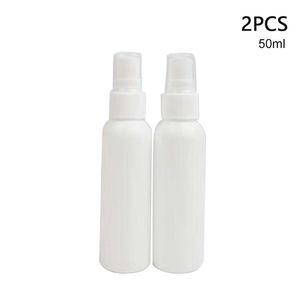 2pcs Lotion Liquid Shampoo Household Pure Dew Plastic Empty Spray Bottle Makeup Container Multipurpose Hotel Portable Travel