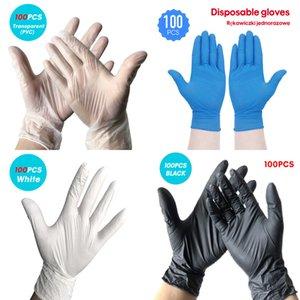 100 50pcs Wegwerp Latex Nitril Rubber Huishouden Keuken Afwassen Handschoenen Werk Tuin Universele Links En Rechts KFRQ