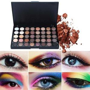 40 Color Eye Shadow Cosmetics Earth Color Eye Shadow Makeup Sexy Lasting Set Girls Pallete Pearl Smoky Cosmetics For Fashio C1Y5