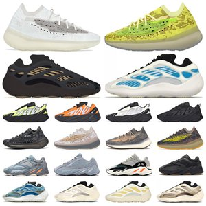 adidas yeezy boost 700 v3 yezzy v2 380 kanye west wave runner Azul Running Shoes Magnet Vanta analog Para Hombre Mujer Static Malva Sólido Diseñador de lujo Zapatos Tamaño 36-45