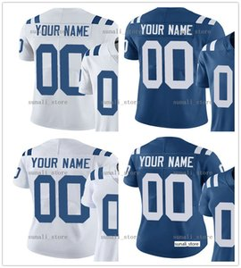 Сшитые новые 90 Grover Stewart 96 Denico Autry 27 Xavier Rhodes 8 Rigoberto Sanchez 4 Adam Vinatieri 18 Peyton Manning Jersey