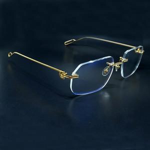 Frame Random Desinger B294 Carter Glass Transparent Frames Lens Prescription Fill Sunglasses Shadow Glasses Fashion Lfscu