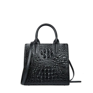 Natural Cowhide Leather Solid Color Women Tote Bag Large Capacity Handbag For Ladies 2020 Winter Fashional Crossbody Bag