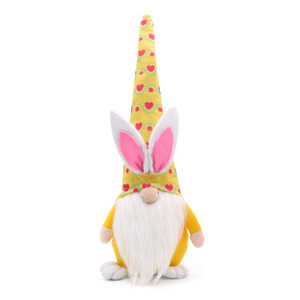Easter Bunny Gnome Decor Girl Room Easter Nordic Swedish Faceless Doll Plush Dwarf Home Party Decorations Kids Easter Toys FFB4715
