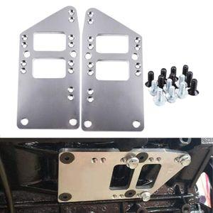 SBC Vehicle to LS Motor Motor Mount Adapter Placa Swap Block Conversion Kit LS1 LQ9 LS6