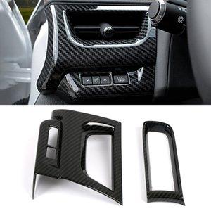 렉서스 UX ZA10 2019 2020 자동차 자동차 액세서리 대시 보드 사이드 에어 벤트 출구 커버 트림 스티커 프레임 인테리어 장식