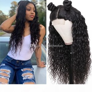 Water Wave Lace Front Wigs Human Hair Pre-Plucked with Baby Hair Brazilian Water Wave Human Hair Wig Wet and Wavy Lace Front Wigs