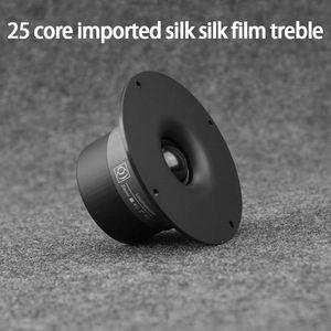 KYYSLB FR-25HM-110 25W 4-8ohm 4.5 Inch Imported Silk Silk Film Tweeter Speaker Dome Film Tweeter Speaker Strong Penetration