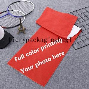 Asciugamano in microfibra personalizzato Sport assorbente Asciugamano Superfine Asciugamano Superfine 35x75cm Digital Stampato Asciugamani da spiaggia Yoga Coperte 200GSM-400GSM Subscribe2021