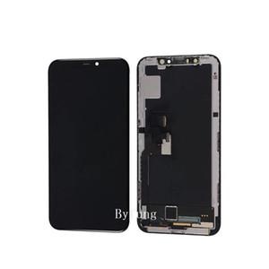OLED الأصلي بالكامل ل iPhone X شاشة LCD شاشة تعمل باللمس مع 3D محول الأرقام استبدال الجمعية الهاتف المحمول LCD لشاشة iPhone X