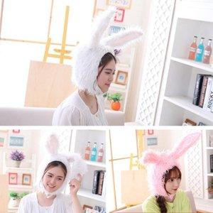Funny Fluffy Plush Warm Hat Ears Cosplay Headgear Party Favors