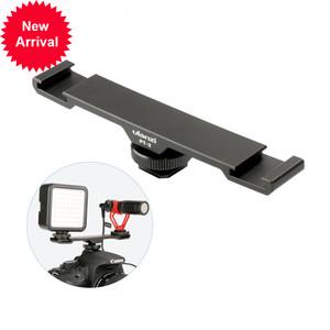 Ulanzi-PT-2 Selle, Slipper, Rodalisation, Support à double fil 1/4 pour DV, caméra DSLR, téléphone intelligent, microphone, lumière LED
