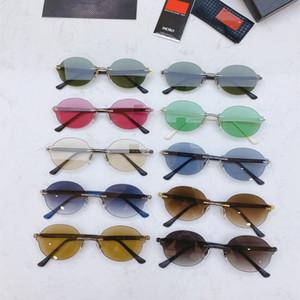 Fashion sport sunglasses for men 2020 unisex glasses men women sun glasses silver gold metal frame UV400 Eyewear lunettes with box d6bO#