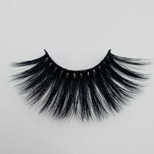False eyelashes 5 pieces mink lashes soft fluffy 3D mink dramatic long wispies lash extension natural long 3d mink lashes custom packaging