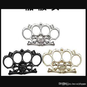 Donne all'aperto Uomini Autodifesa Sopravvivenza Sopravvivenza Strumento di Boxing Binger Protective Gear Ring Tiger Brass Thankle Duster Forniture fitness