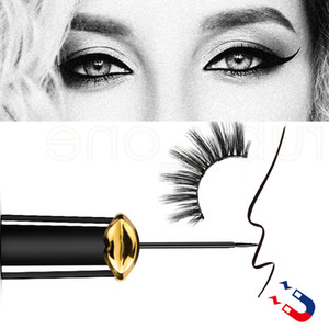 Creative Magnetic Black Eyeliner For Magnet Eyelashes Magnetic Eyelashes Natural False Eyelash Extension Glue Make Up Tools