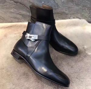 Design élégant Kelly Neo Boucles Bottines Bottines Bottes Dames Bottes Fête Dress MARTIN BOOT Célèbre Hiver Lady Girl Knight Boot
