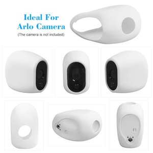 Silicone Skins for Arlo Cameras Security Weatherproof UV-resistant Case Black and White