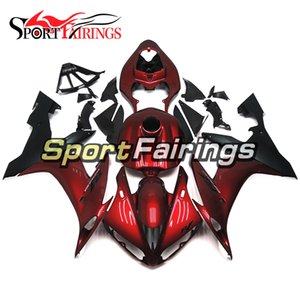 Sportbike Fairings For YAMAHA R1 YZF 1000 04 05 06 YZF-1000 2004 2005 2006 YZFR1 ABS Plastic Injection Body Kit Candy Red