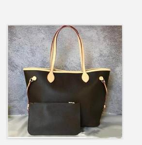 2021 Nuevas mujeres bolsos de cuero femenino madre paquete bolsa mano madre billetera de embarque bolsa bolsa bolsa + bolsa pequeña N51106 M40157
