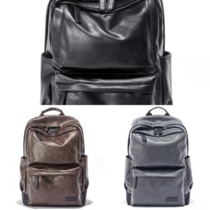 gUli Men Laptop Leather Soft Crossbody Tote Messenger Bags Business Briefcases Double Zipper Handbags Genuine Plain Cowhide Sling laptop