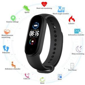 Abay-M5 Akıllı Bluetooth, Spor Bilezik, Kalp Hızı ve Kan Prsure Kontrolü