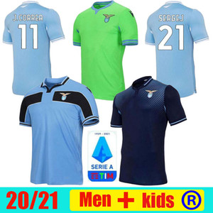 2020 21 Lazio Biancocelesti Fussball 120th Jerseys Luis Alberto Immobile Sergej Vestiti da Calcio 1989 91 2019 Männer Kinder Retro Football Hemd