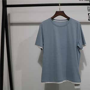 2020 New Fashion Customizable colors t shirt Men Cotton Short Sleeve O-neck tops Summer Breathable Soft t-shirt Man Clothing