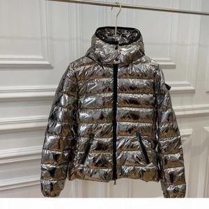 women winter jacket Silver shiny down jacket Top Quality Winter Coat New Women Winter Casual Outdoor Warm Feather Outwear Thicken Lengthen