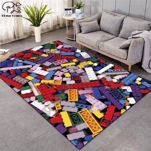 Educational floor playmats kids 3D Print Carpet Hallway Doormat Anti-Slip Bathroom Carpets Kids Room Absorb Water Kitchen-4