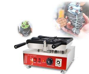 Ücretsiz Kargo ~ Elektrikli 110 V 220 V-240 V Japon Tarzı Krem Taiyaki Makinesi Balık Koni Waffle Makinesi