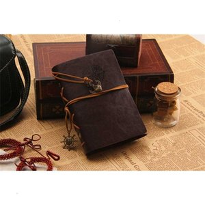 Travel Journal Rudder Vintage Anchor Leather Decoration Notebook Free Shipping