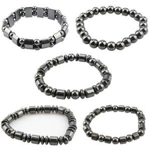 Men Women Charm Black Magnetic Hematite Bracelet Fashion Accessorices Healthy Bracelets Jewelry Gifts