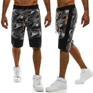 ZOGAA 2020 New Casual Shorts Men Summer Top Design Camouflage Casual Shorts Beach Pants Homme Cotton Fashion Clothing