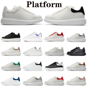 Plataforma Mens Running Sapatos Snakeskin Baixo Corte De Couro Genuíno De Couro Plano Camurça Mulher Festa de Partido Treinadores Esporte Sneakers Chaussures