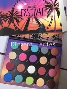 El maquillaje más nuevo perfecto Hermosa sombra de ojos Paleta Cinco estilos 18 Color brillo sombra de ojos paleta epacket