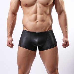 - Wowhomme Faux японские кожаные шорты, нижнее белье моды, мужское сексуальное нижнее белье C33