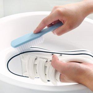 Nuovo 1 Pz Shoe Brush Plastic Hanghold Colth Brush Multiuso Lavaggio Pennello per la pulizia della casa Accessori per la pulizia della casa