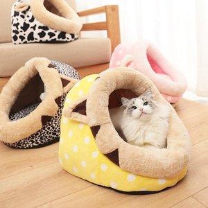 WHPC chat chat chat chat maison chaton maison pour chats petits chiens lit coiffe mignons matts couchats chats animaux produits toutes saisons