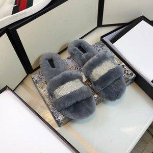 Kadınlar Pamuk Ayakkabı G V Ev Terlik Tasarımcı Yumuşak Alt Dilsiz Lüks Peluş Yay Pamuk Pad Kadın Terlik Terlik Kadın Peluş C Kapalı Kyhd