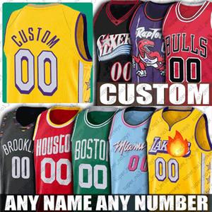 Costume Basketball Jersey Heats Bull Sixer Net Maver Clipper Grizzly Buck Rocket Golden Magics State Pelican The Black Mamba Camisolas
