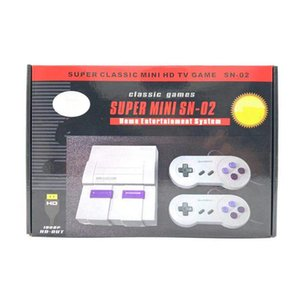 Upgrade Mini Griffled Video Game Player SNES 8-Bit HD KANN 821 Spiele TV Output Game Console Support TF Karten Kostenloser DHL