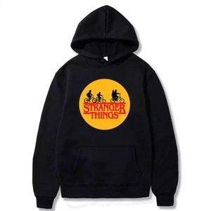 Hoody men Male Casual oversized Hoodie male stranger things hoodie women's Solid oversized sweatshirt hooded man Tops Y1112