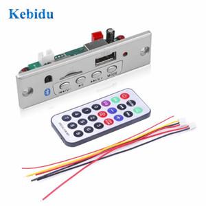 & MP4 Players Bluetooth MP3 Player With TF Card Slot USB FM Decoder Board 5V 12V Audio Module Remote Decoding USB FM Radio For Car