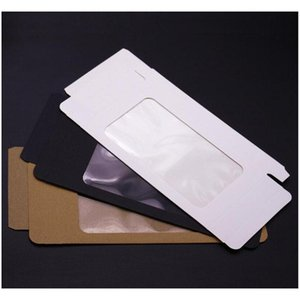 300pcs Universal Mobile Phone Case Package Paper Kraft Brown Retail Packaging Box For Iphone 7sp 6sp 8sp Sa jlleTn lucky2005