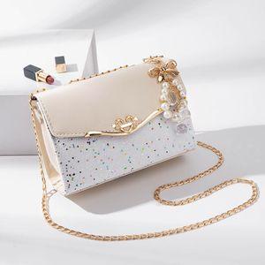 2019 Women's Glitter Shimmer Envelope Ladies Sequins Evening Party Prom Black Clutch Bag Handbag