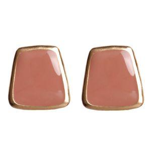 2020 New Design Red Heart Stud Earring Women Metal Gold Color Eye Heart Lips Wedding Statement Earrings Fashion Party Jewelry Swy jllxDz