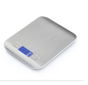 5000g 1g LED Electronic Digital Kitchen Scales Multifunction Food Scale Stainless Steel LCD Precision Jewelry Scale Weight Balance BC 2266